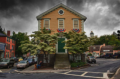 Photograph - Old Town House In Marblehead by Jeff Folger