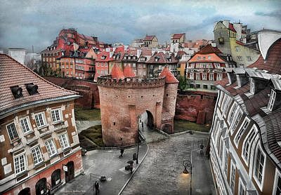 Photograph - Old Town In Warsaw # 25a by Aleksander Rotner