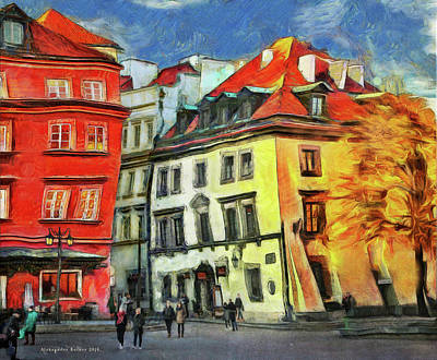 Photograph - Old Town In Warsaw # 27 by Aleksander Rotner