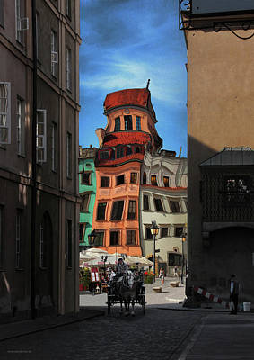 Photograph - Old Town In Warsaw #14 by Aleksander Rotner