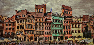 Photograph - Old Town In Warsaw #15 by Aleksander Rotner