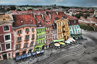 Photograph - Old Town In Warsaw #20 by Aleksander Rotner