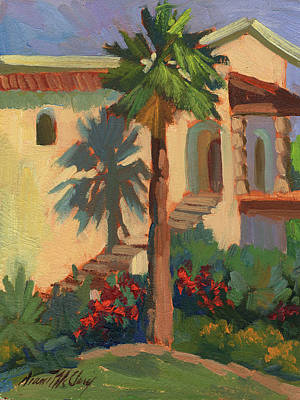 Painting - Old Town La Quinta Palm by Diane McClary