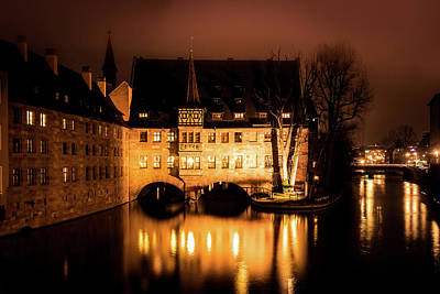 Photograph - Old Town Nuremberg by Andrew Matwijec