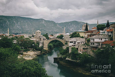 Photograph - Old Town Of Mostar by JR Photography