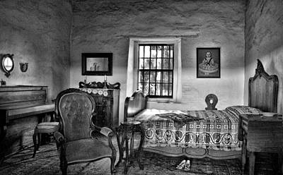 Old Time Quilts Photograph - Old Town San Diego - Historic Park Bedroom by Mitch Spence