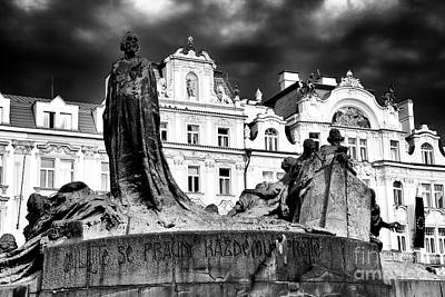 Photograph - Old Town Square Drama by John Rizzuto