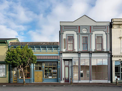 Photograph - Old Town Storefronts by Greg Nyquist