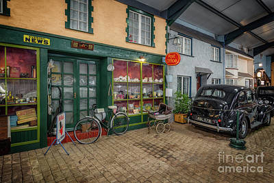 Photograph - Old Town Street by Adrian Evans
