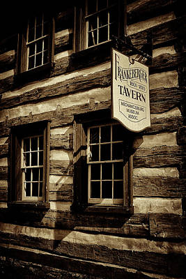 Photograph - Old Town Tavern by Paul W Faust - Impressions of Light