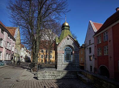 Photograph - Old Town View. Roheline Turg by Jouko Lehto