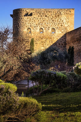 Old Town Walls Toledo Spain Original