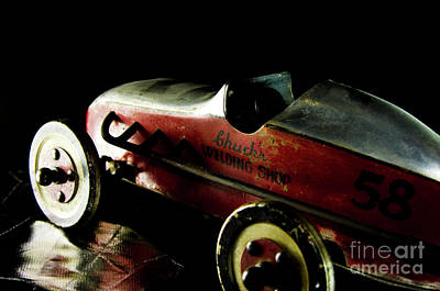 Photograph - Old Toy Racing Car by Wilma Birdwell