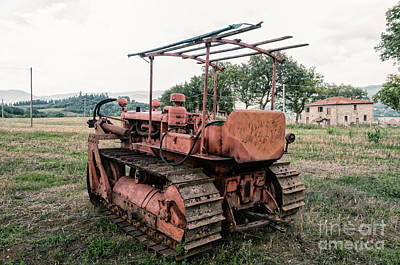 Photograph - Old Tracked by Leonardo Fanini