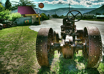 Photograph - Old Tractor by Doug Matthews