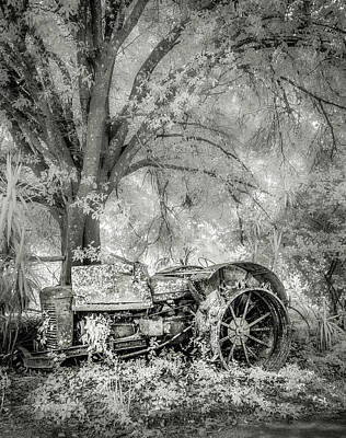 Photograph - Old Tractor by Steve Zimic