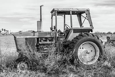 Photograph - Old Tractor by SR Green
