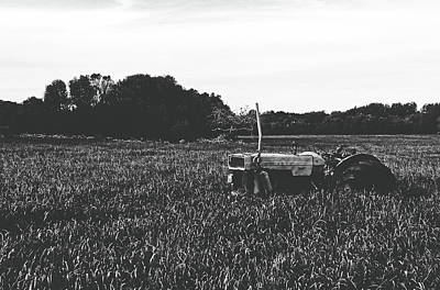 Photograph - Old Tractor by Unsplash