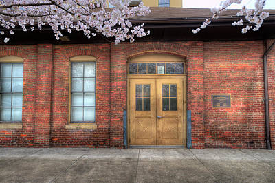 Photograph - Old Train Depot by Dan Friend