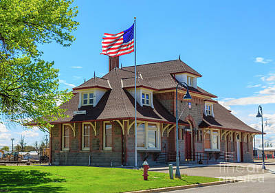 Photograph - Old Train Depot  by Robert Bales