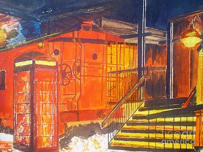 Painting - Old Train Station by Josie Weir