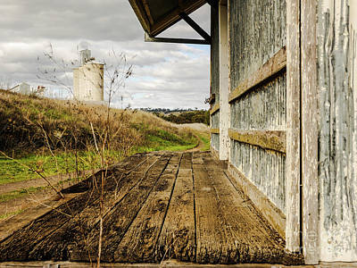 Photograph - Old Train Stop by Lexa Harpell