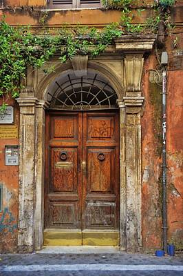 Photograph - Old Trastevere by JAMART Photography