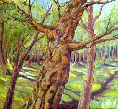 Painting - Old Tree by Ida Eriksen