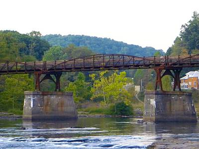 Bridge Photograph - Old Trestle by Ric Schafer