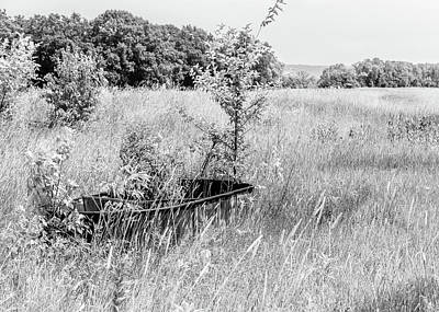 Photograph - Old Trough In A Field by Joni Eskridge