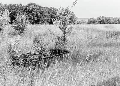 Photograph - Old Trough In A Field by Joni Eskridge