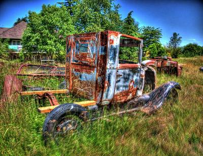 Photograph - Old Truck 5 by Lawrence Christopher
