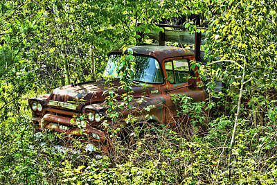 Photograph - Old Truck by Alana Ranney