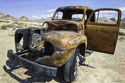 Photograph - Old Truck by Fran Gallogly