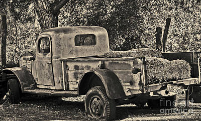 Photograph - Old Truck by Frank Stallone