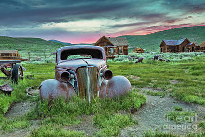 Photograph - Old Truck In Bodie by Mimi Ditchie