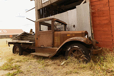 Old Trucks Photograph - Old Truck In Old Forgotten Places by Jeff Swan