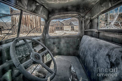 Photograph - Old Truck In Town by Sonya Lang