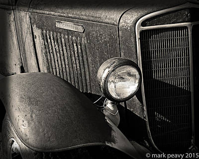 Photograph - Old Truck by Mark Peavy
