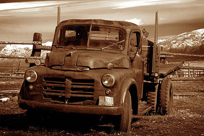 Photograph - Old Truck by Norman Hall
