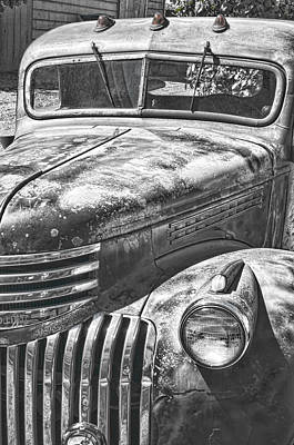 Photograph - Old Truck by Robert Brusca