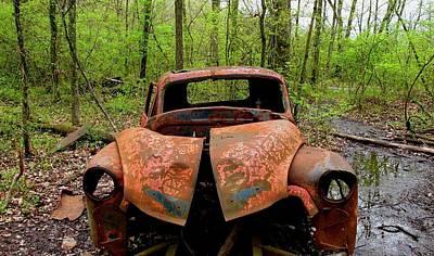 Wall Art - Photograph - Old Truck by Robert Papps