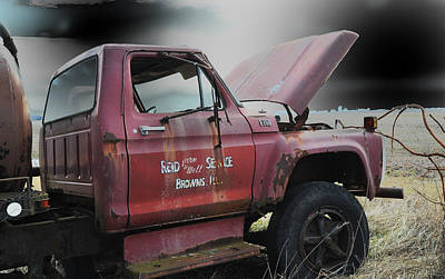 Photograph - Old Truck by Steve Archbold