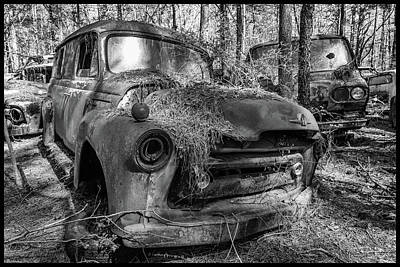 Photograph - old truck_MG_4220 by Matthew Pace