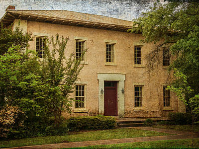 Photograph - Old Tuscaloosa Jail by Phillip Burrow