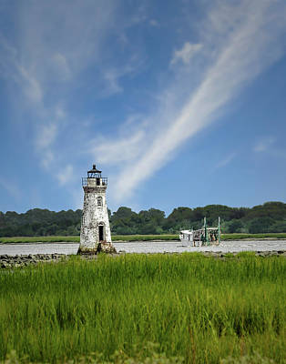 Photograph - Old Tybee Light - Tybee Island by Frank J Benz