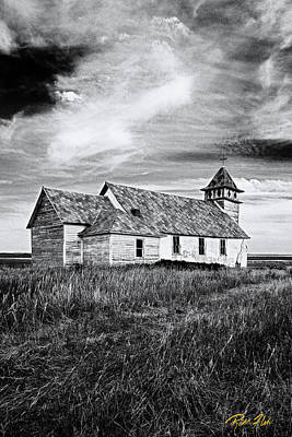 Photograph - Old-tyme Church by Rikk Flohr