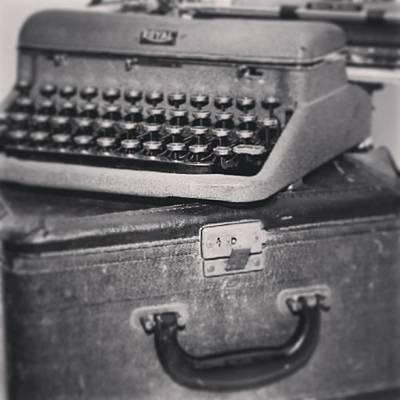 Typewriter Photograph - Old Typwriter... #antique  #typewriter by Elton  Hazel