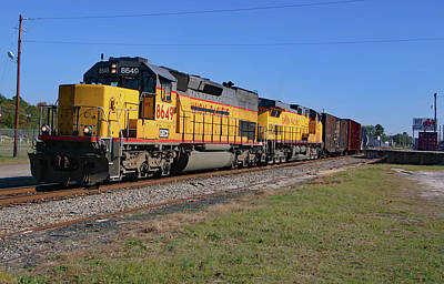 Photograph - Old Union Pacific Motors In 2004 by Joseph C Hinson Photography
