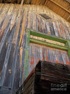 Photograph - Old Unloading Dock by Joy Tudor